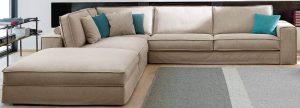 Γωνιακός καναπές Santorini